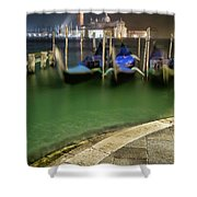 Approdo Per La Strada Shower Curtain
