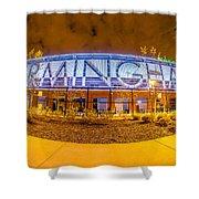 April 2015 - Birmingham Alabama Regions Field Minor League Baseb Shower Curtain