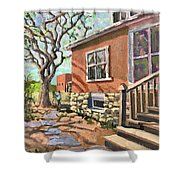 April Afternoon Light Shower Curtain