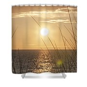 April Beach Shower Curtain