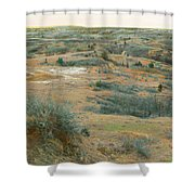 April Daydream Shower Curtain