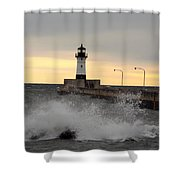 April Gales Shower Curtain