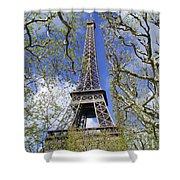 April In Paris Shower Curtain