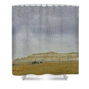 April In The Badlands Shower Curtain