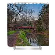 April In Washingtons Crossing Shower Curtain