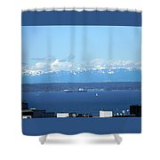 April Sail Shower Curtain