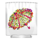 April Showers Bring May Flowers Shower Curtain