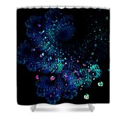 April Showers May Flowers Shower Curtain