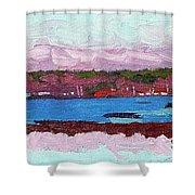 April Sunrise Singleton Shower Curtain