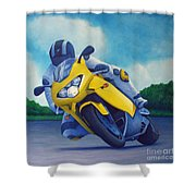 Aprilla - Tuesday Afternoon Shower Curtain