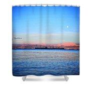 Aqaba  Shower Curtain
