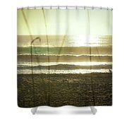 Aqua Shower Curtain