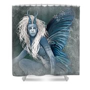 Aqua The Forest Fairy2 Shower Curtain