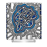 Aqualectric Shower Curtain