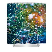 Aquarium Galaxy Shower Curtain