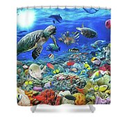 Aquarium Shower Curtain