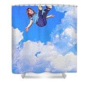 Aquarius Rising Shower Curtain