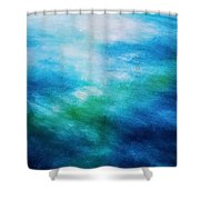 Aquatic Healing Overture  Shower Curtain