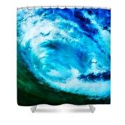 Aquatini Shower Curtain