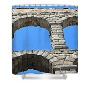 Aqueduct Of Segovia Shower Curtain
