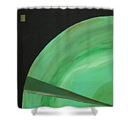 Aquifer # 14 Shower Curtain