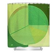 Aquifer # 4 Shower Curtain