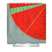Aquifer # 8  Shower Curtain