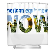 Artwork For Lawnmower Company Shower Curtain