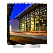 Ara Pacis Shower Curtain