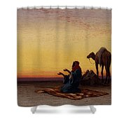 Arab At Prayer Shower Curtain