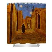 Arab Quarter Shower Curtain