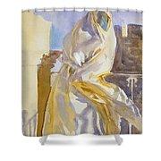 Arab Woman Shower Curtain