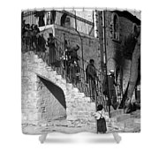 Arab Youths In Bethlehem 1938 Shower Curtain