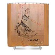 Arabesque On Pointe Shower Curtain