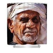 Arabian Old Man Shower Curtain