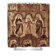 Aragon: Jesus & Disciples Shower Curtain