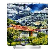 Aragua Valley Shower Curtain