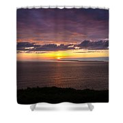 Aran Islands At Sunset Shower Curtain