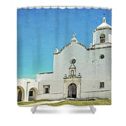 Mission La Bahia Shower Curtain