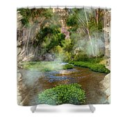 Aravaipa Creek Shower Curtain