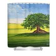 Arbol De Ceiba Shower Curtain