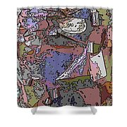 Arbor Abstract Shower Curtain