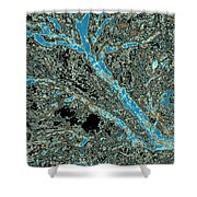 Arboreal Plateau 25 Shower Curtain