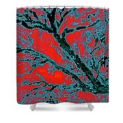 Arboreal Plateau 6 Shower Curtain