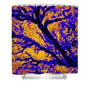 Arboreal Plateau 7 Shower Curtain