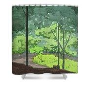 Arboretum Path Shower Curtain