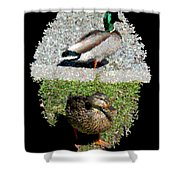 Arboretum Quackers Shower Curtain