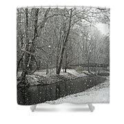 Arbuckle Bridge Shower Curtain