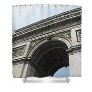 Arc De Triomphe, Paris, France Shower Curtain
