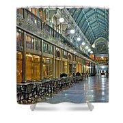 Arcade In Cleveland Shower Curtain